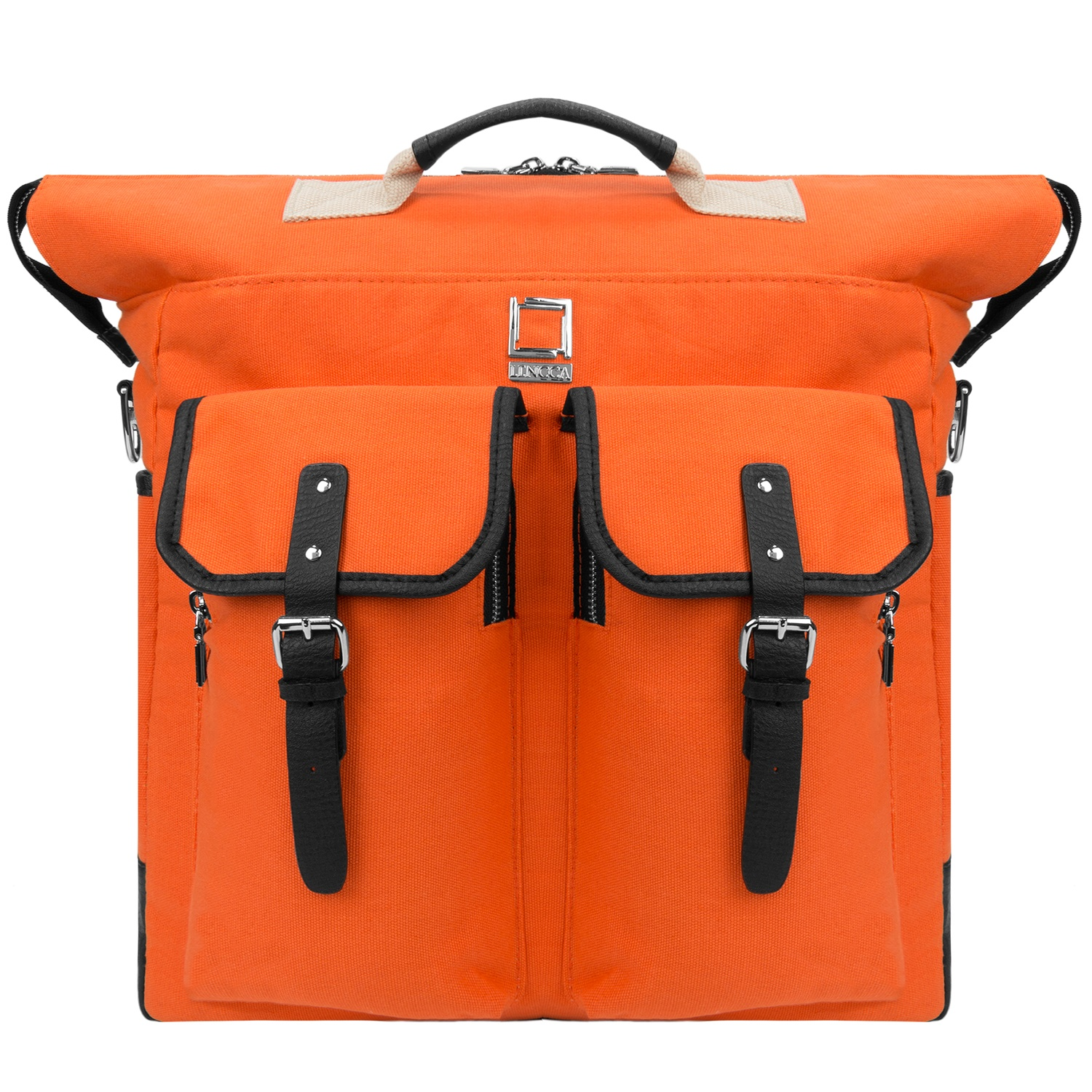 """LENCCA Phlox 3 in 1 Universal Messenger / Backpack / Carrying Bag Fits up to 13"""", 13.3"""", 15""""or 15.6"""" Laptops / Ultrabooks"""