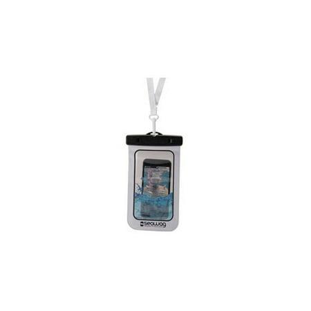 White Back Case - SEAWAG SEAW1 WATERPROOF CASE FOR SMARTPHONES  WHITE  BLACK