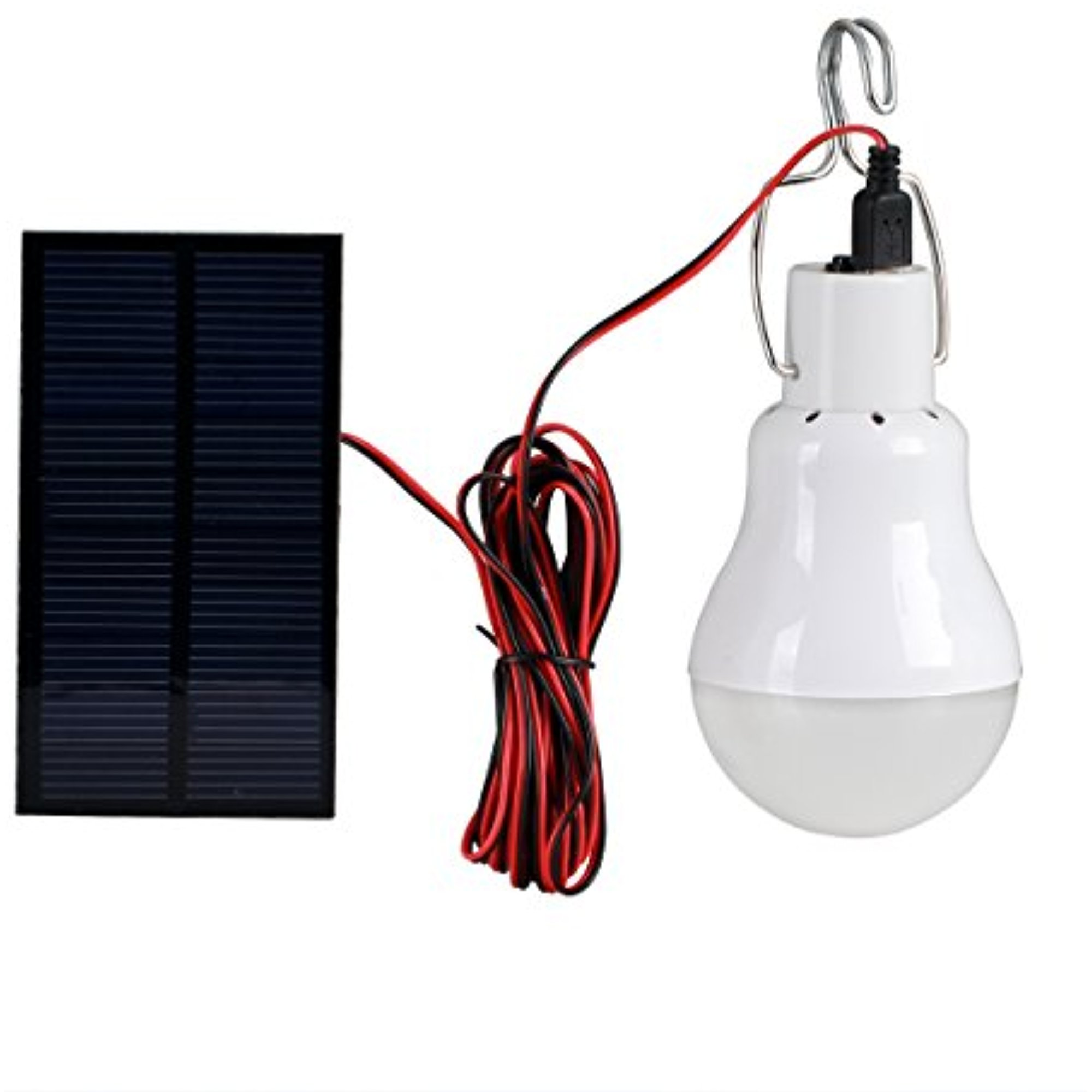 Click here to buy Solar Lights,Solla LED Camping Emergency Light Lantern Bulb with 0.8w Solar Panel?Portable Led Solar Lamp Spotlight For Hiking Camping Tent... by LIVEDITOR LIGHTING.