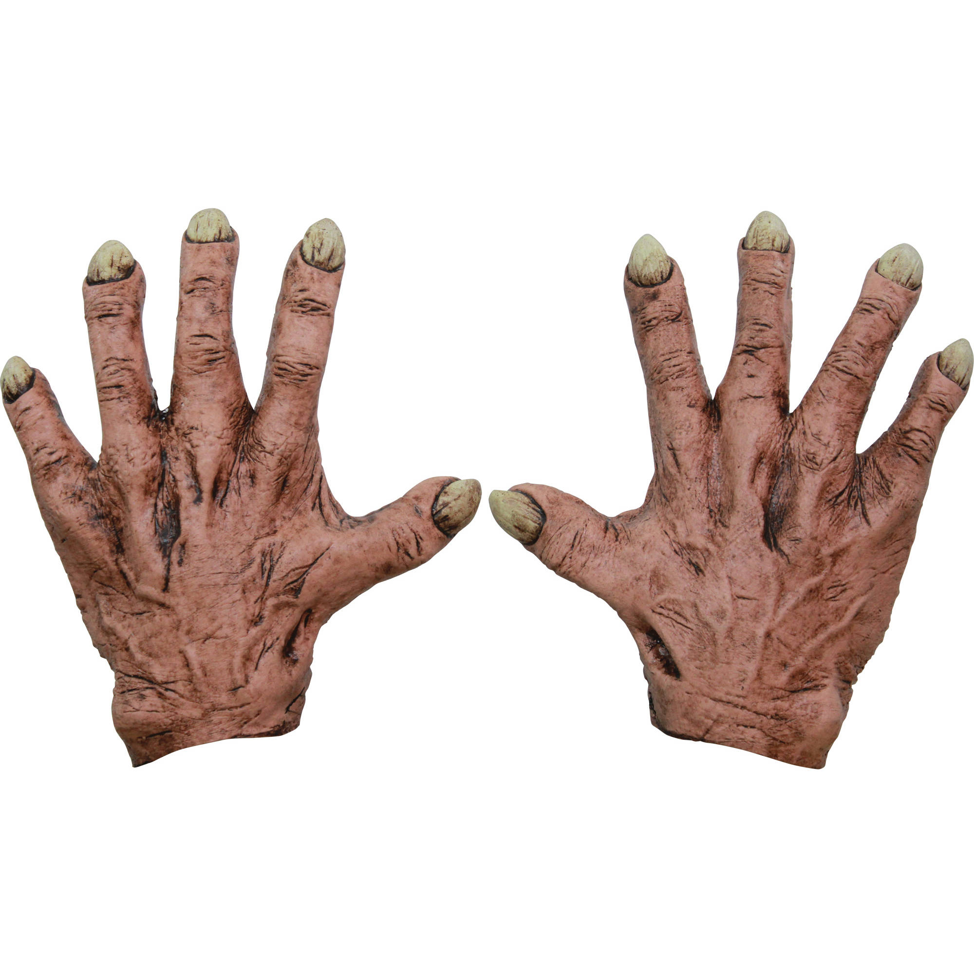 Flesh Monster Latex Hands Adult Halloween Accessory