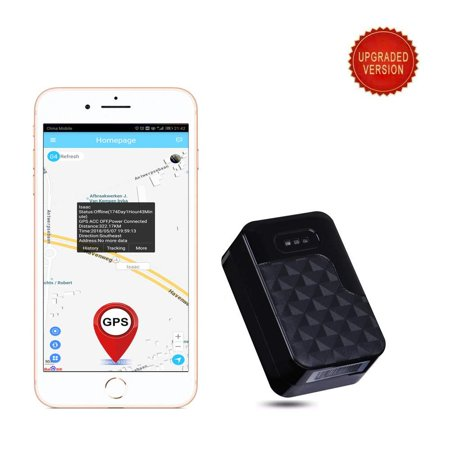 AUENLIPHTO GT200A Real-time Wireless Portable Magnetic Personal Bicycle Motorcycle Vehicle GPS Tracker No Monthly Fee Anti-Theft Car GPS