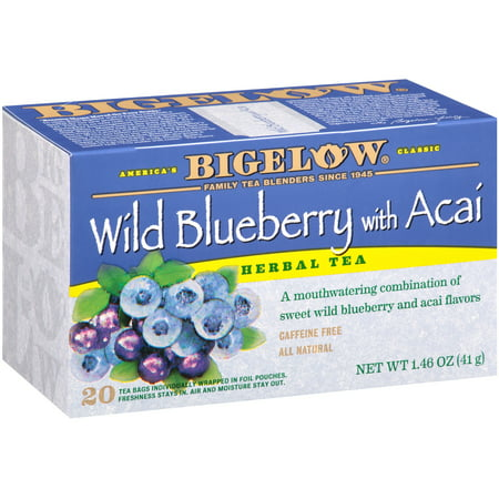 Bigelow, Wild Blueberry with Acai, Tea Bags, 20