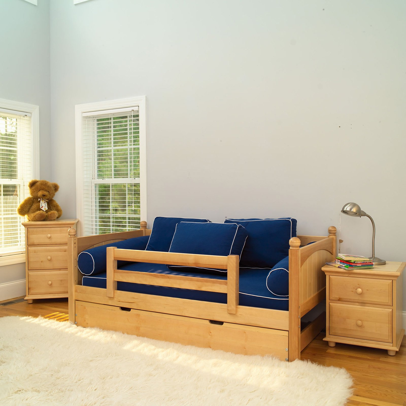 Yeah Panel Daybed with Guard Rail