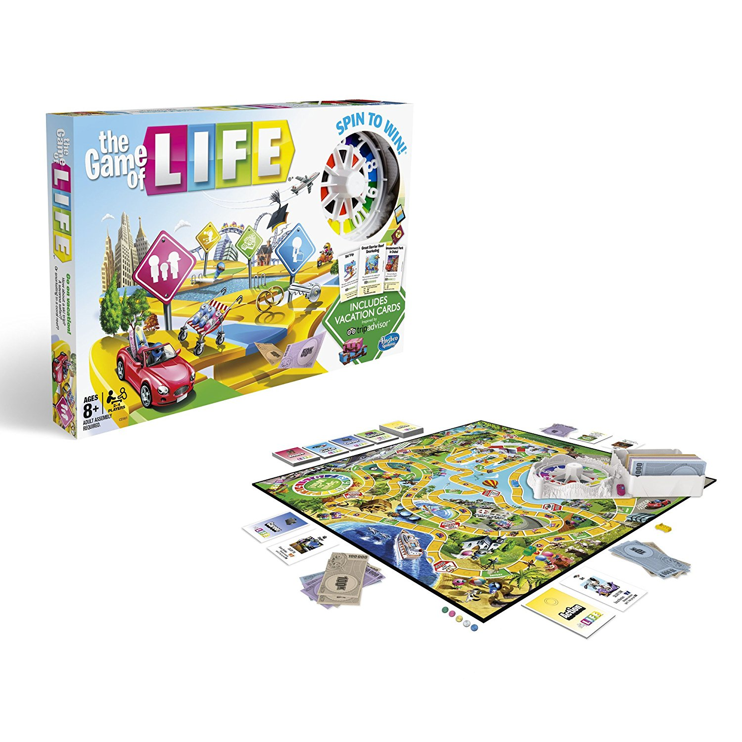 The Game of Life: TripAdvisor Edition, The Game of Life game is full of surprises By... by
