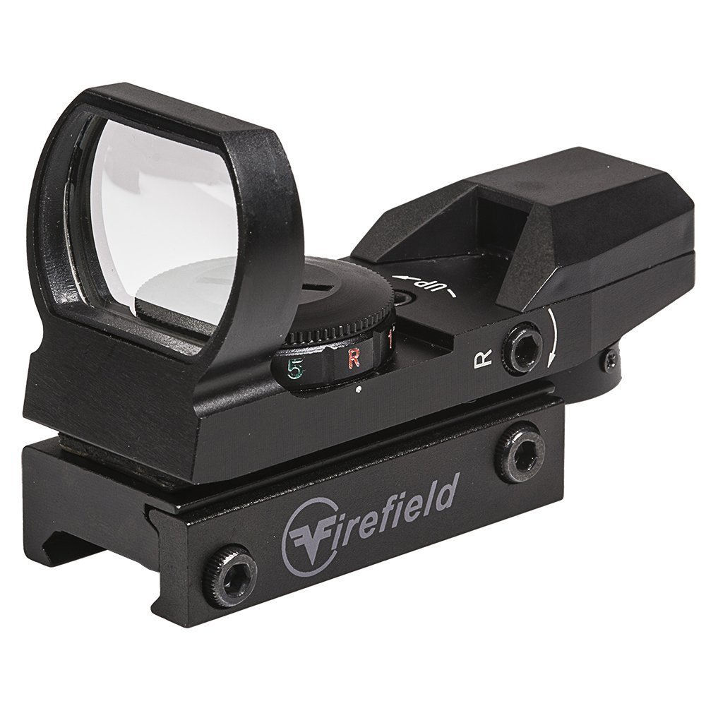 Airsoft Reflex Sight, Tactical Pistol Rifle Shotgun Dot Reflex Sight, Red/green