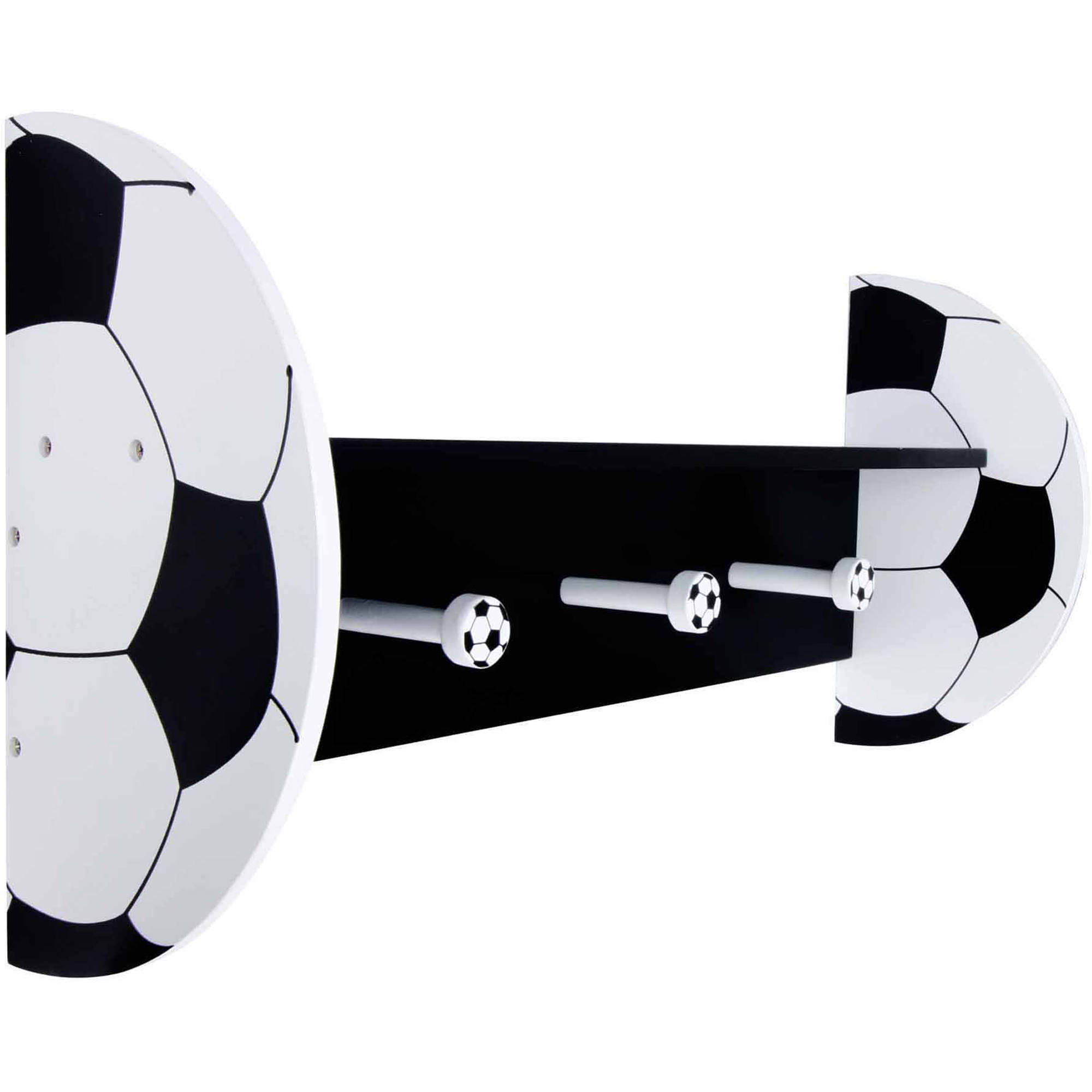 Trend Lab Soccer Wall Shelf with Pegs