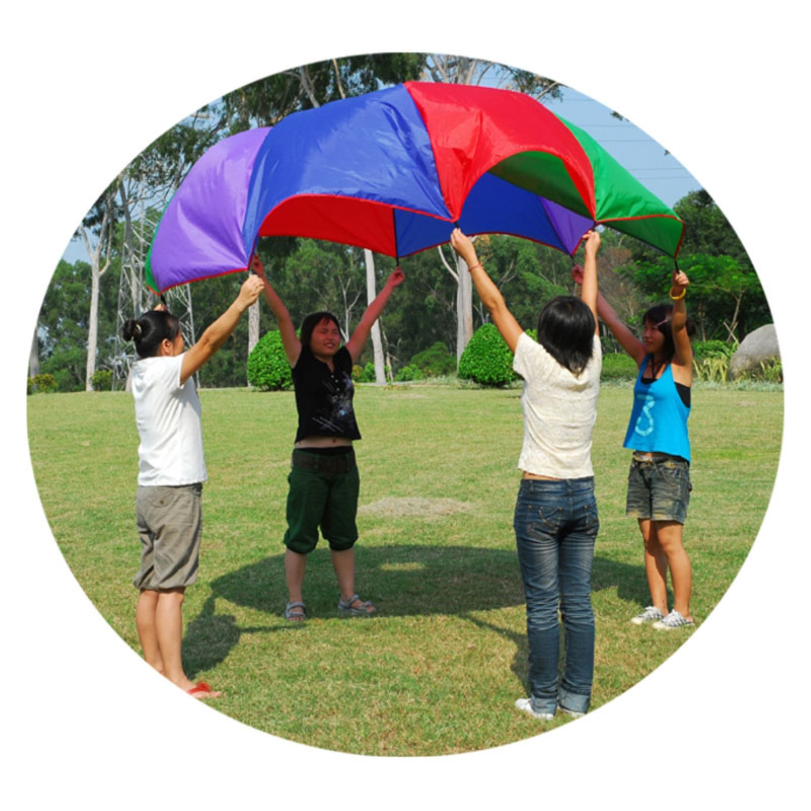GigaTent 10' Multi Use Parachute Play Tent