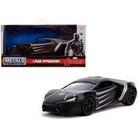 """Lykan Hypersport Black Panther"""" Theme """"Marvel"""" Series 1/32 Diecast Model Car by Jada"""""""