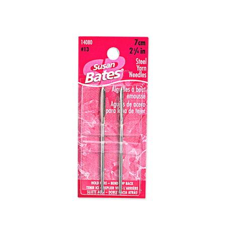 Susan Bates Steel Yarn Needles 2 3 4In