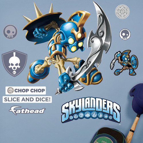Fathead Skylanders Activision - Chop Chop Junior Peel and Stick Wall Decal