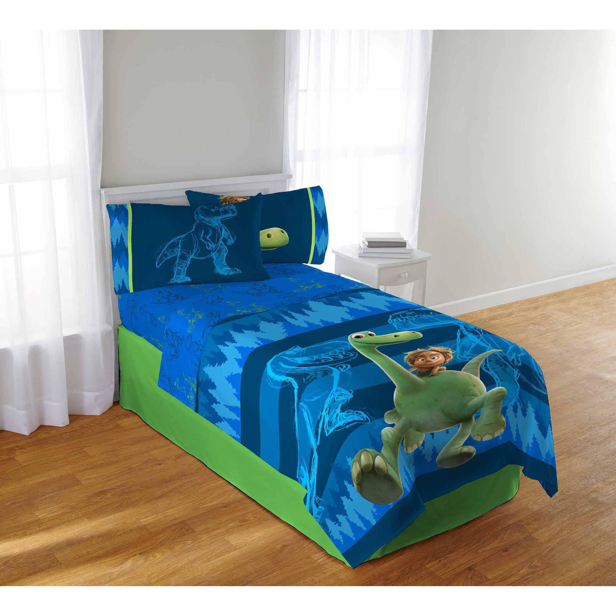 dinosaur bedroom set the dino bedding sheet set walmart 11431