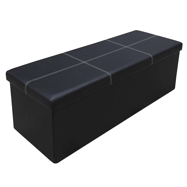 Otto Amp Ben 45 Inch Line Design Memory Foam Folding Storage