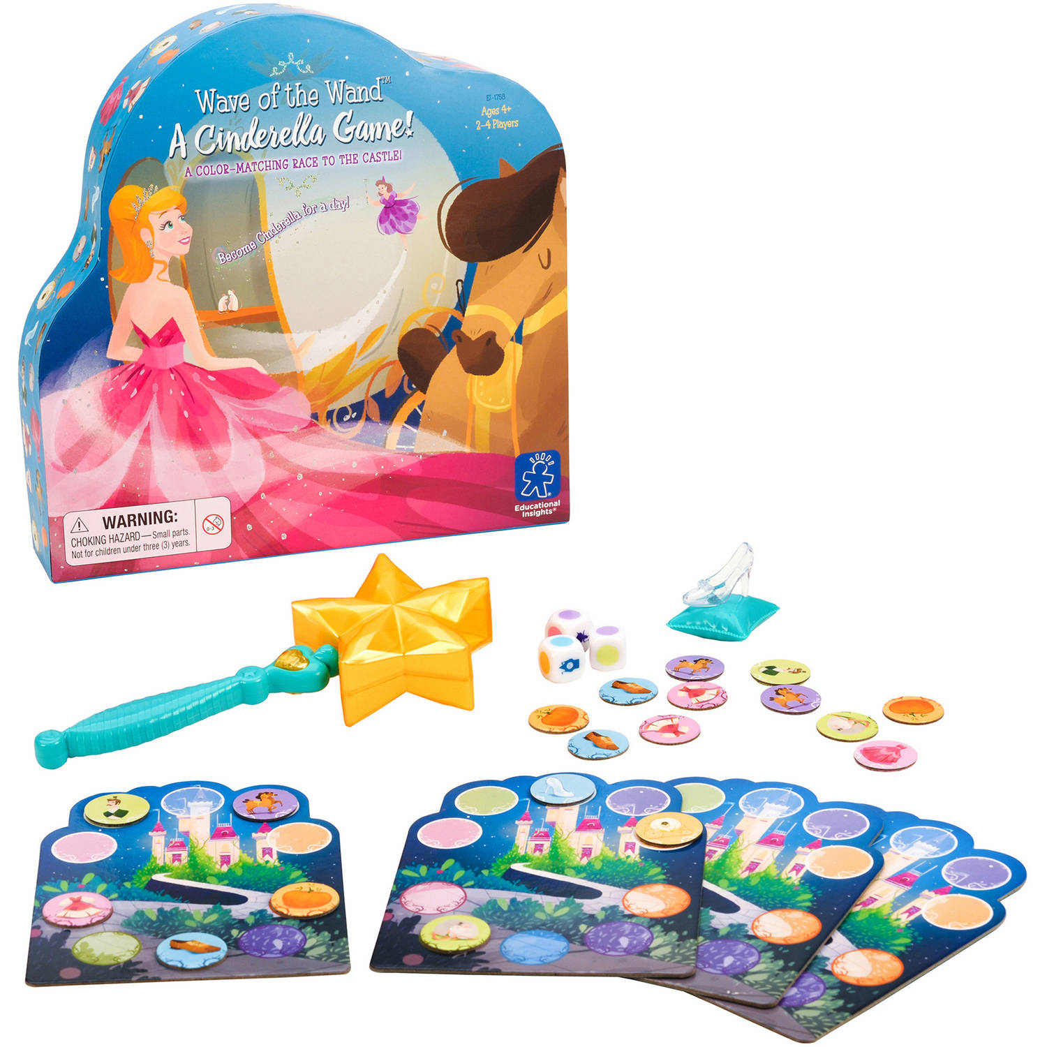Educational Insights Wave of the Wand: A Cinderella Game