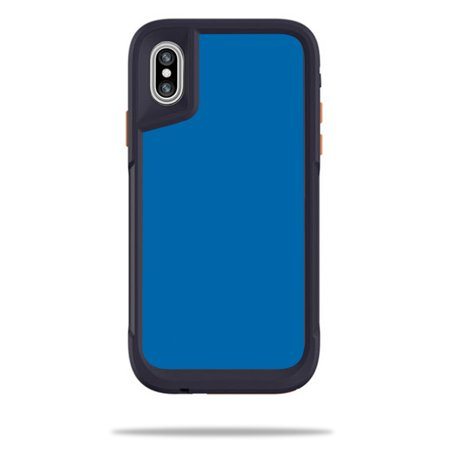huge selection of 76d3f 286f5 MightySkins Skin For OtterBox Pursuit iPhone X - Solid Baby Blue ...