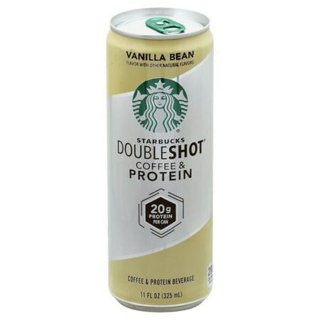 Starbucks Doubleshot Coffe Protein Vanilla Bean 11 Fl Oz 1 Count