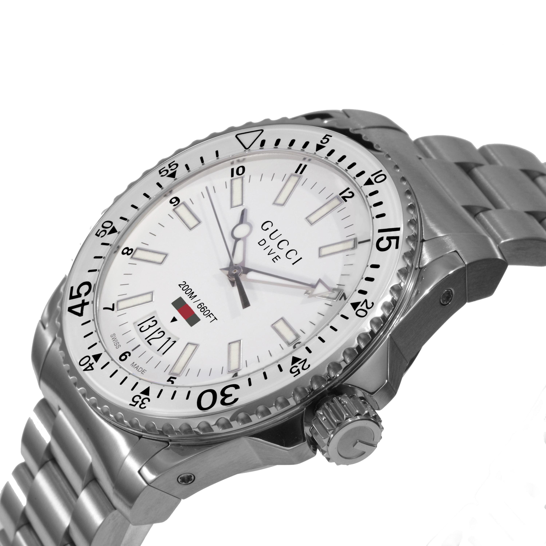 7432d059a53 Gucci - Men s Dive Watch Quartz Sapphire Crystal YA136302 - Walmart.com