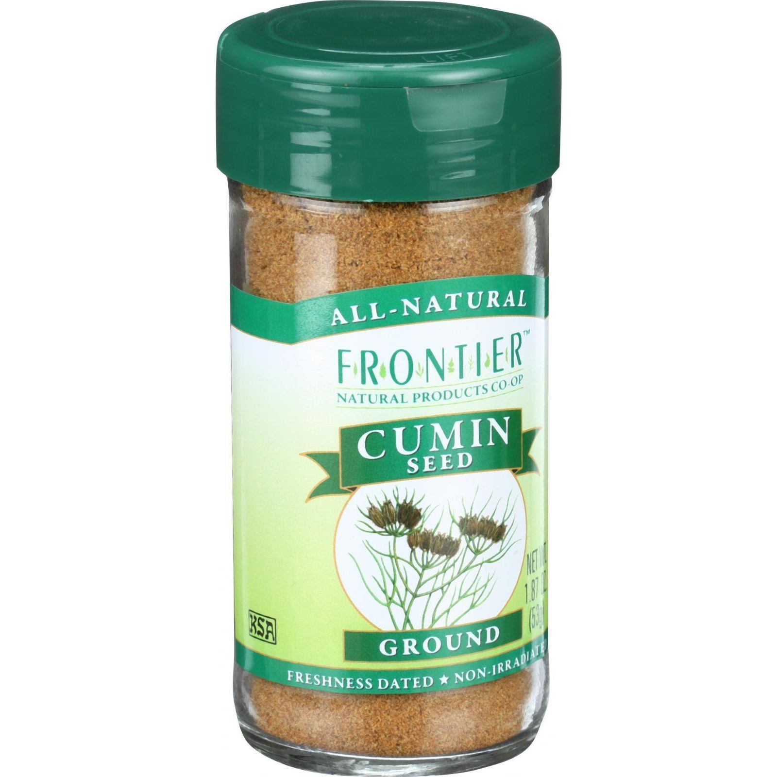 Frontier Natural Products Cumin Seed Ground, 1.6 Oz