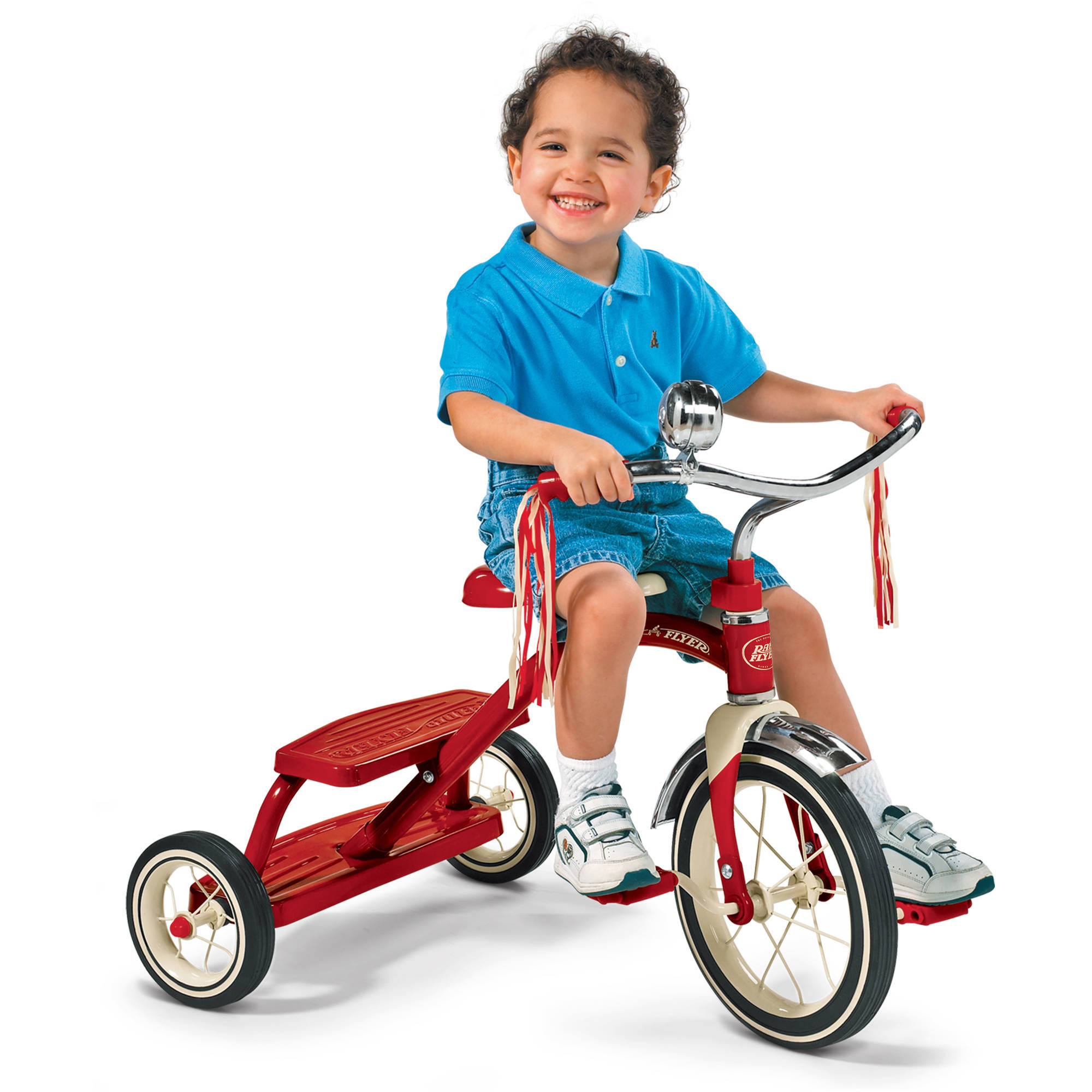 Radio Flyer Classic Red Dual-Deck Tricycle