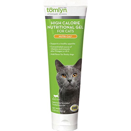 Tomlyn High Calorie Nutritional Gel for Cats, (Nutri-Cal) 4.25 oz, Supports a healthy appetite By Tom Lyn ()