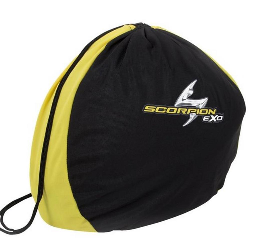 Scorpion 59-614 Helmet Bag for EXO Standard Helmet - Black/Yellow