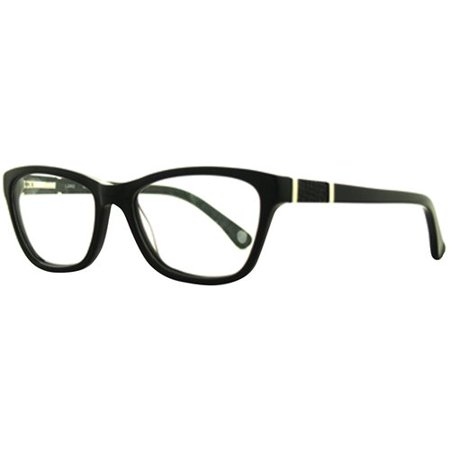 allure l3002 womens rx able eyeglass frames black