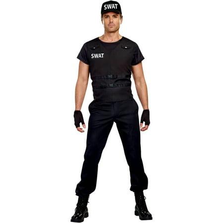 SWAT Commander Adult Men\'s Halloween Costume, Medium - Walmart.com