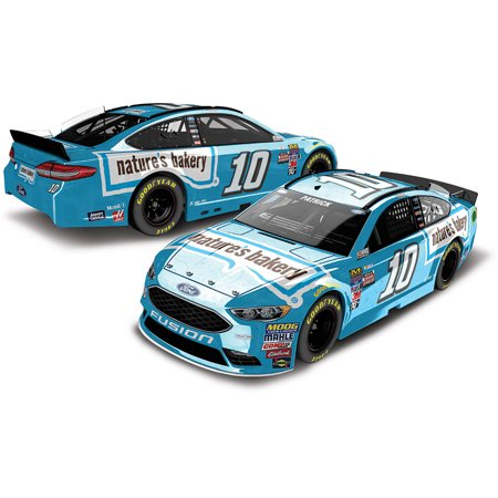 Lionel Racing Danica Patrick  10 Natures Bakery 2017 Ford Fusion Car 1 24Th Scale Arc Color Chrome Hoto Official Diecast Of The Monster Energy Nascar Cup Series