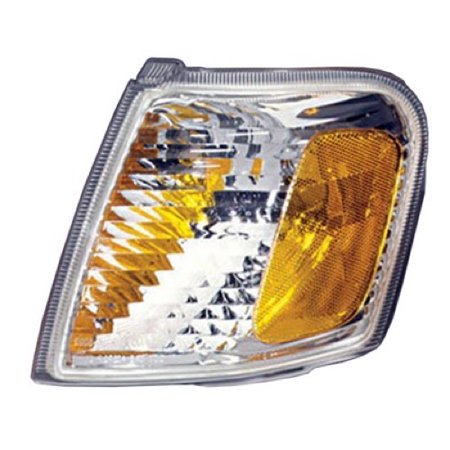 Compatible 2001 - 2005 Ford Explorer Sport Trac Parking Light Assembly / Lens Cover - Left (Driver) Side 1L5Z 13201 AA FO2520164 Replacement For Ford Explorer Sport