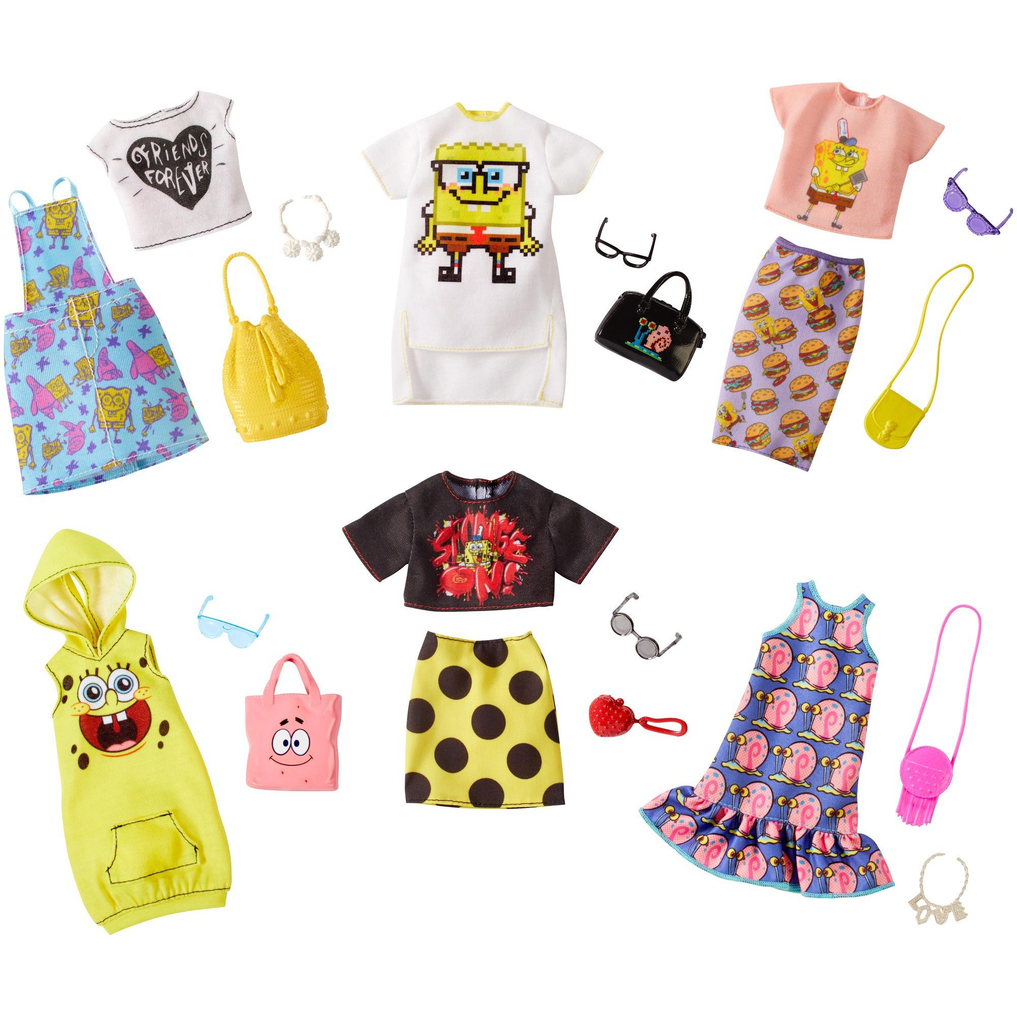 863c50a879 Barbie Licensed Fashion with 1-Outfit   Accessories (Styles May Vary) -  Walmart.com