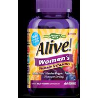 Alive! Women's Gummy Vitamins Multivitamin Supplements 60 Count