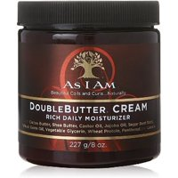 As I Am Double Butter Cream, 8 oz (Pack of 4)