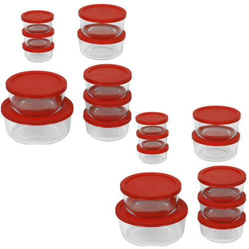 Pyrex 40-Piece Storage Plus Value Set