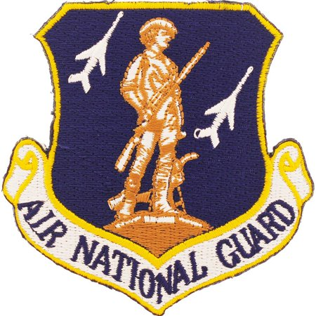 National Guard Acu Patch Foliage - U.S. Air Force Air National Guard Shield Patch