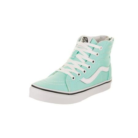 Vans Kids Sk8-Hi Zip Skate Shoe](Girls Vines)