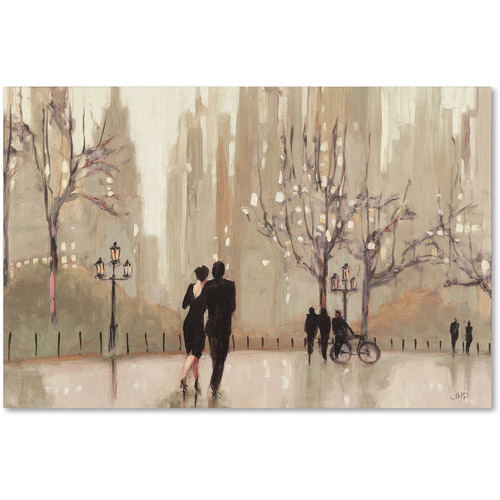 "Trademark Fine Art ""An Evening Out Neutral"" Canvas Art by Julia Purinton by Trademark Global LLC"