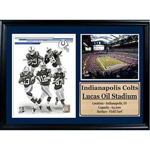 NFL Indianapolis Colts Photo Stat Frame, 12x18