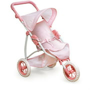 "Badger Basket Three Wheel Doll Jogging Stroller - Fits Most 18"" Dolls & My Life As"