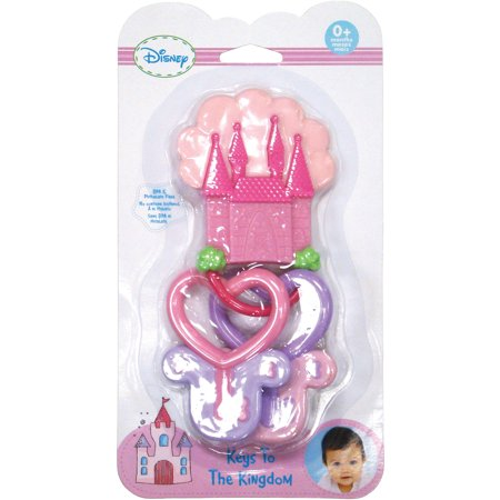 Kids Preferred Disney Baby Disney Princess Keys to the Kingdom Teether