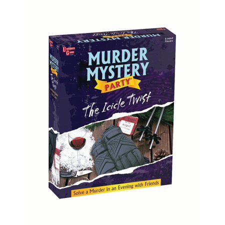 The Icicle Twist Murder Mystery Party - Halloween Murder Mystery Party