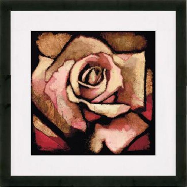 New Era Portfolio NE24079 Rose Study I by Arthur Albin in Matte Black Frame