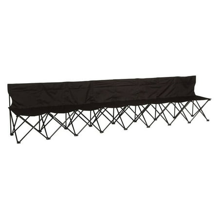 Trademark Innovations Portable 8-Seater Sports (Portable Team Bench)