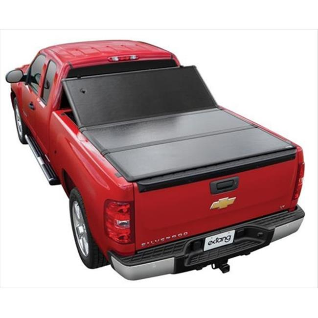 EXTANG 62652 Encore Tri-Fold Tonneau Cover Lockable With Bolt One-Key, Black
