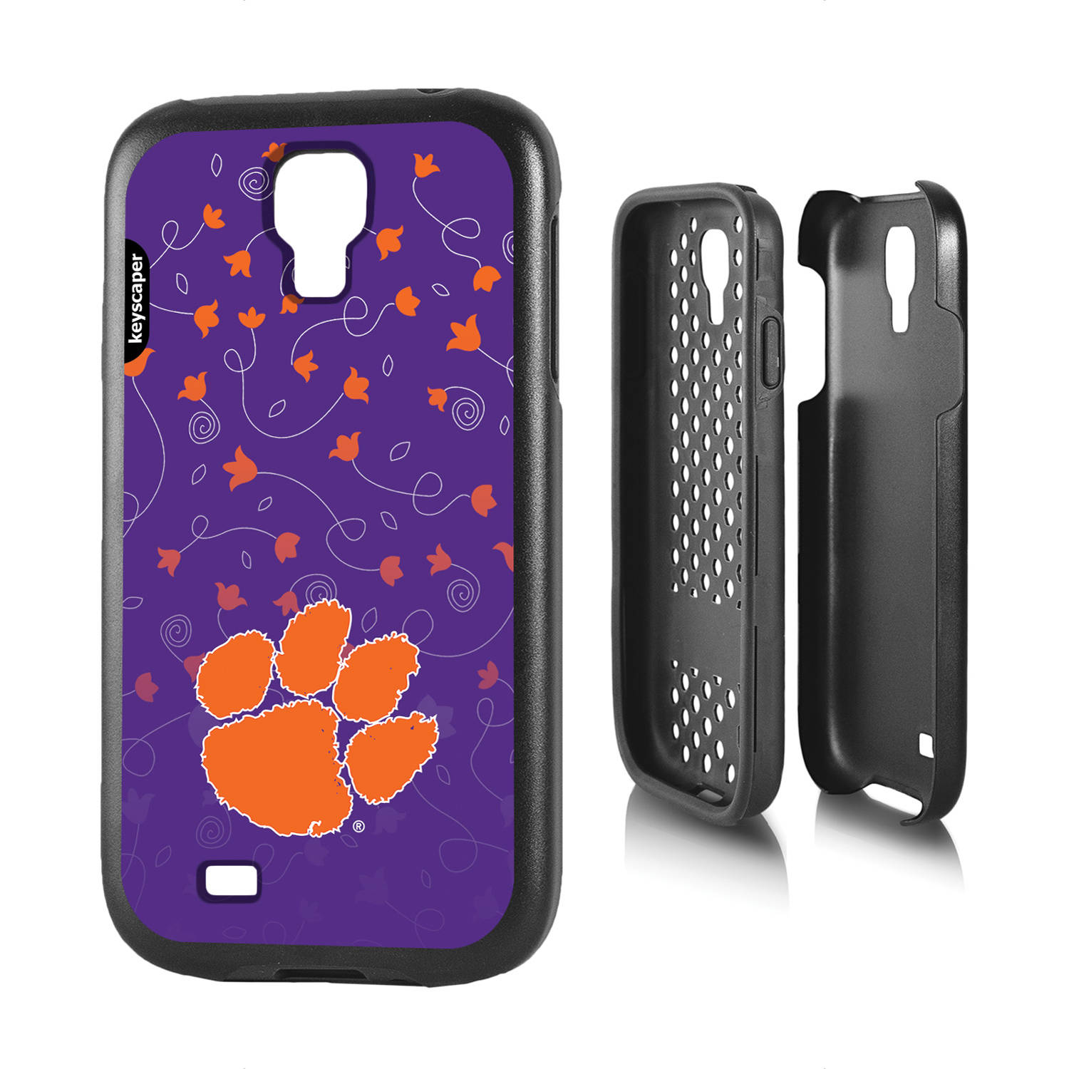 Clemson Tigers Galaxy S4 Rugged Case
