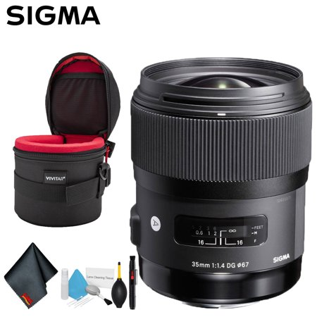 Sigma 35mm f/1.4 DG HSM Art Lens for Canon EF (US Model) Deluxe
