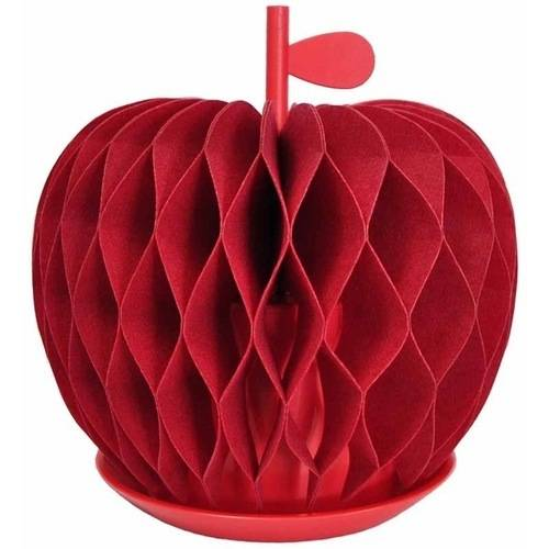 Apple Non-Electric Personal Humidifier in Red