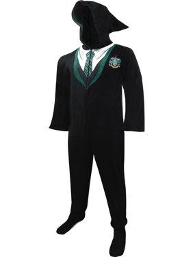 Slytherin House Uniform Hooded Footie Pajama