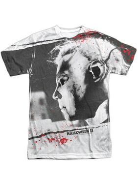 0e15fe39c1bd9 Product Image Halloween Men's Myers Mask Sublimation T-shirt White