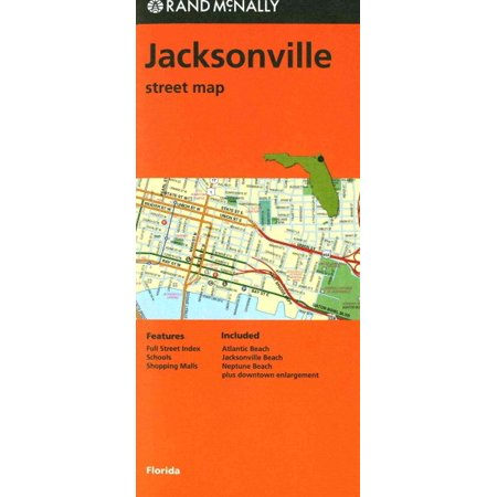 Folded Map Jacksonville, FL ()
