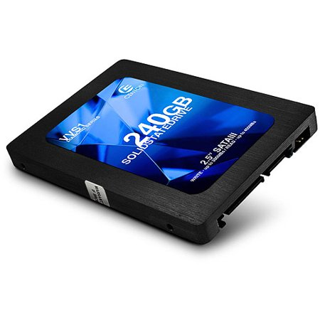 "Centon Diamond VVS1 240 GB 2.5"" Internal Solid State Drive - SATA - 400 MB/s Maximum Read Transfer Rate - 300 MB/s Maximum Write Transfer Rate - Black"