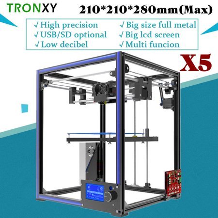 DIY 3D Printer Kit Tronxy X5 High Precision Aluminium